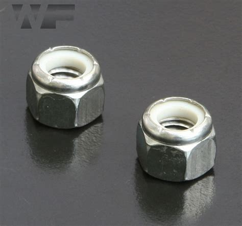 UNC Nylon Insert Hex Nuts IFI-100/107 in A2 Stainless
