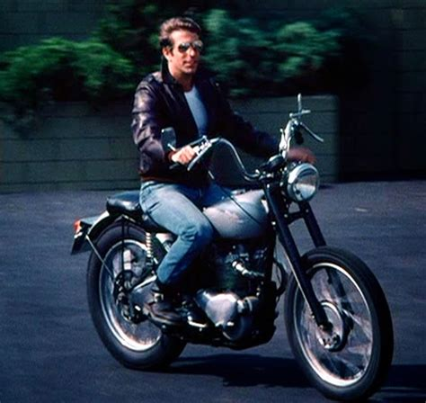 the motorcycles the Fonz had on Happy Days