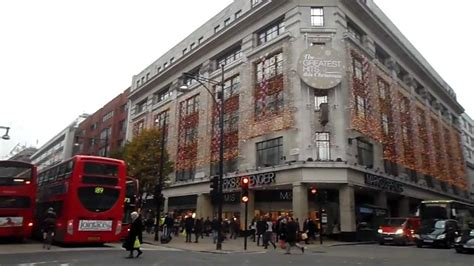 marks and spencer store oxford street london christmas