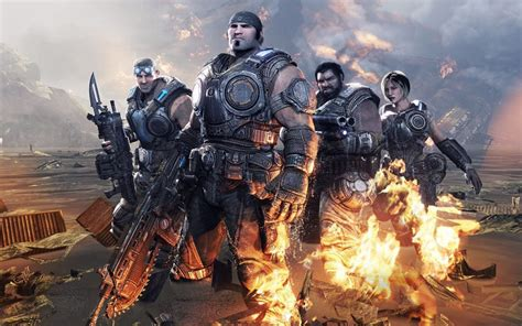 Gears Of War 3 Backgrounds, Pictures, Images