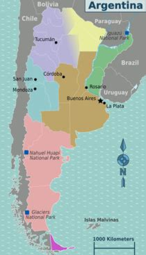 Argentina – Travel guide at Wikivoyage