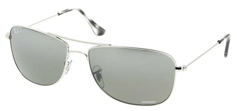RAY-BAN RB 3543 003/5J Argent 59/16 - Optical Center