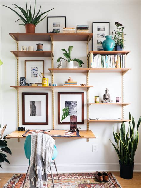 Diverse DIY Suspended Shelves That Add Flavor To Your Décor