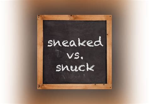 Snuck Or Sneaked? - Everything After Z by Dictionary