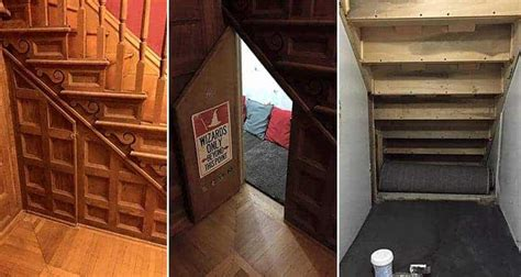 Mom Turns Cupboard Under The Stairs Into Awesome Harry