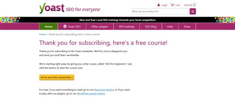 Double Opt-in Email Newsletter Made Right (by Yoast