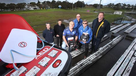 Push for defibrillator's at all sporting grounds across