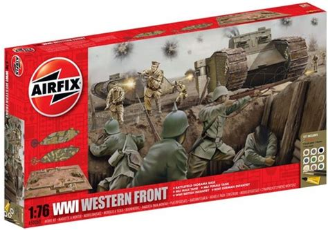 Airfix – A50060 – WWI – The Western Front Gift Set