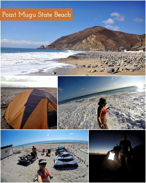Point Mugu State Park - Camping at Thornhill Broome Beach