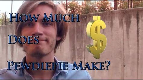 How Much Does PewDiePie Make a Year? (Most Accurate) 2014