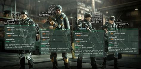 The Division April update: gear sets, bonuses and special