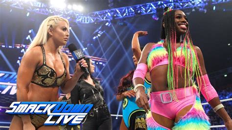 Fight Size Update: Mandy Rose And Naomi Back And Forth On
