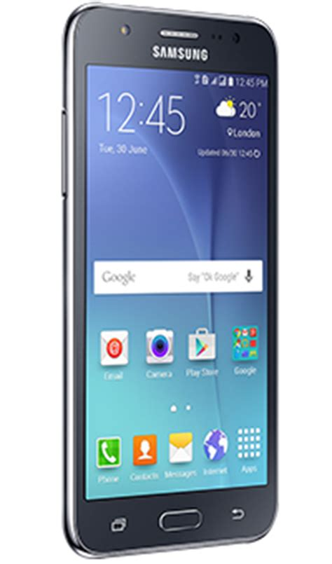 Buy the Samsung Galaxy J5 on Pay as you go from Vodafone