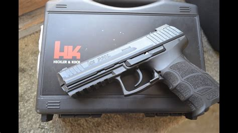 H&K P30L 9mm ---- with the LEM trigger - YouTube