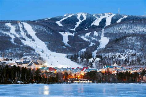 Best Ski Resorts in the Montreal, Quebec Area