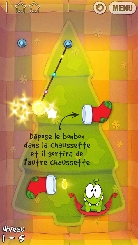 Cut the Rope Holiday Gift iPhone 17/20 (test, photos, vidéo)