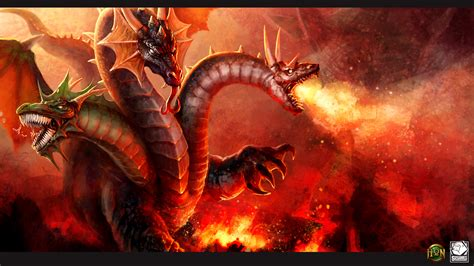 Papeis de parede 1920x1080 Heroes of Newerth Dragões Fogo