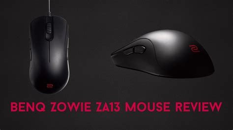 BenQ ZOWIE ZA13 Mouse Review - BC-GB - Gaming & Esports