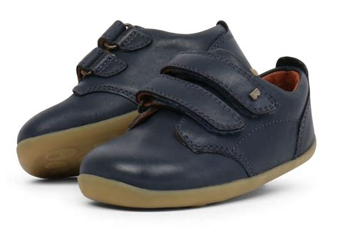 Bobux Step Up Port Navy Shoes - Little Wanderers