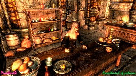 Assortment of potions at Skyrim Nexus - mods and community