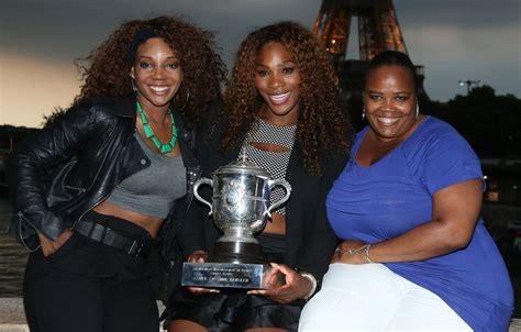 Isha Price in Serena Williams Poses with Her French Open