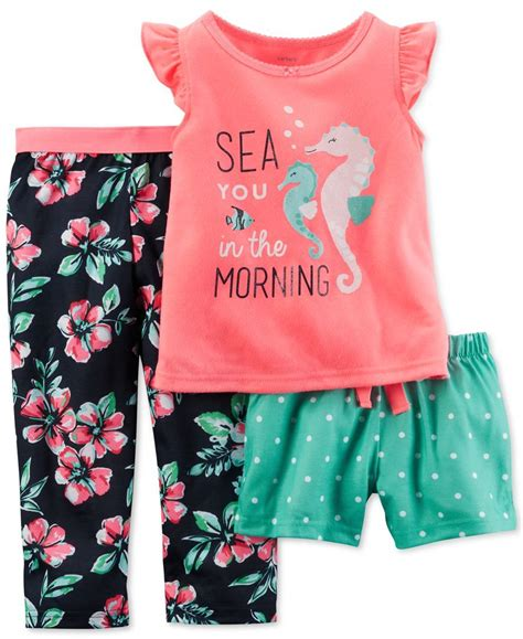 Carter's Toddler Girls' Sea You in the Morning 3-Piece