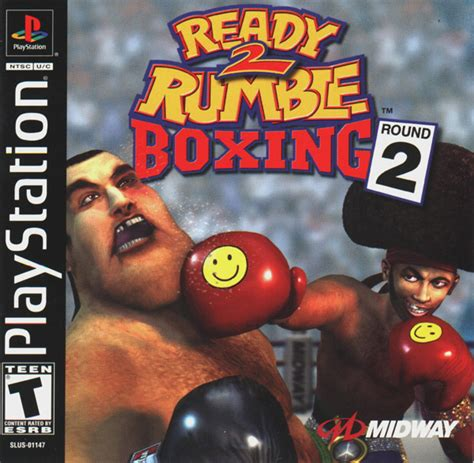 Ready 2 Rumble Round 2 Sony Playstation