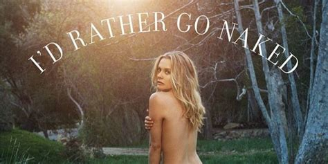 Alicia Silverstone Goes Nude to Protest Wearing Wool