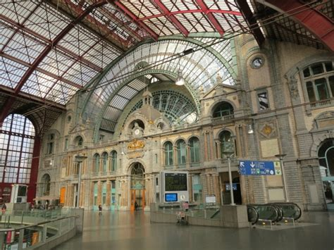 Getting There Antwerp Central Station