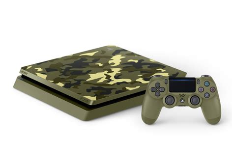 Console SONY PS4 Slim Call of Duty : WWII Camouflage 1 To