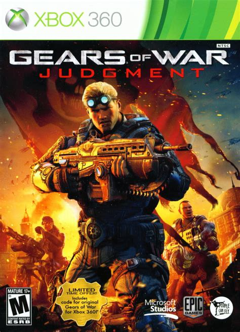 Gears of War: Judgment for Xbox 360 (2013) - MobyGames