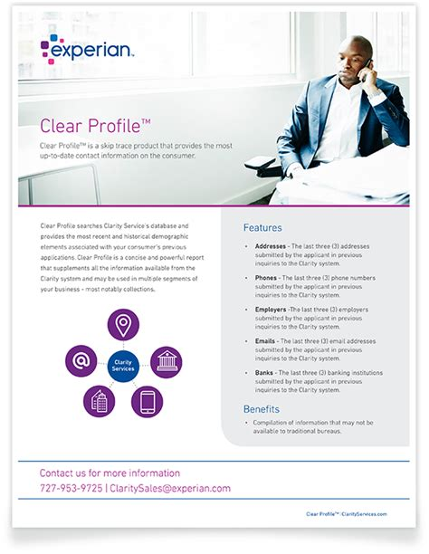 Clear Profile™ | Clarity Services, Inc