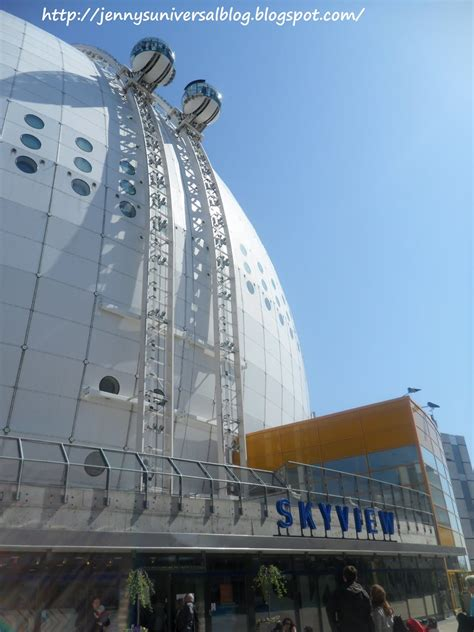 Simple Written Stories: SkyView in Stockholm Globe Arena