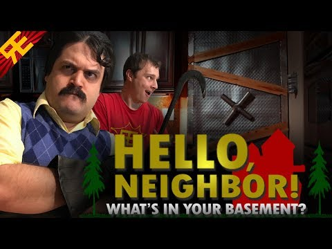 'Hello Neighbor' Stealth Horror Indie Game Alpha 3 Access