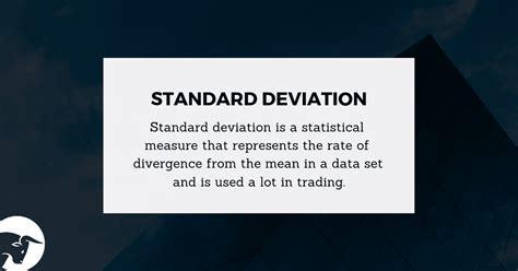 Standard Deviation Definition: Day Trading Terminology