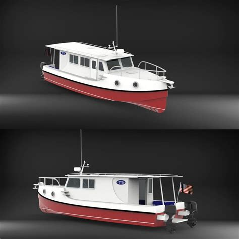 A Trailerable Outboard Boat With a Trawler Look (BLOG