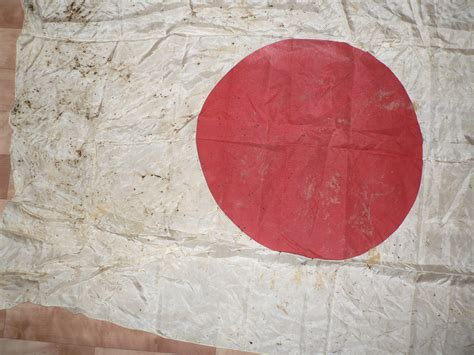 The Japanese flag of the WW2