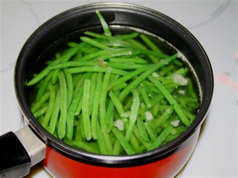 cuisson haricots verts