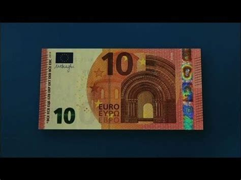 ECB reveals new 10-euro notes featuring mythical god