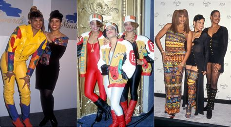 The women of '90s hip-hop and R&B whose iconic style we