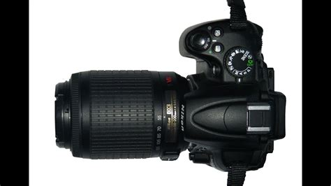 Nikon D5000 and 55-200 VR kit lens - hands on review - YouTube