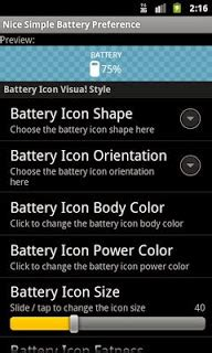 Nice Simple Battery Widget for aNDROID Apk - Android Trend
