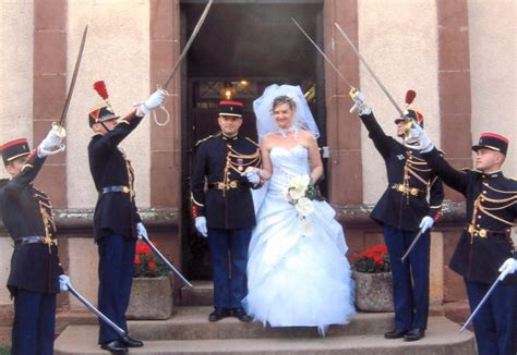 costume mariage militaire