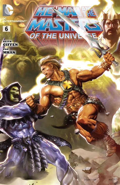 He-Man and the Masters of the Universe Vol 1 6 | DC