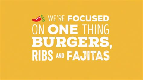 Oh Baby, Chili's Is Back, Baby Back, Baby Back