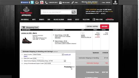 How to use a promo code at Footlocker - YouTube