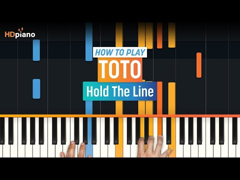 Hold The Line Original Sheet Music (As Recorded By Toto on