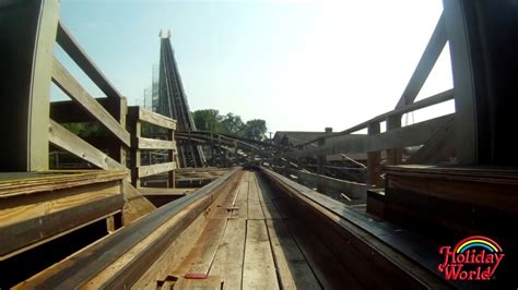The Voyage wooden roller coaster | Holiday World Theme
