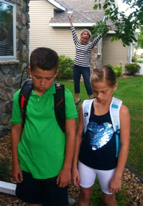 Funny Parent Reactions To Their Kids Going Back To School