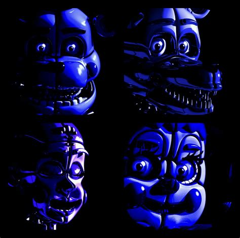 Baby, Funtime foxy and freddy, and Ballora!   Fnaf sister